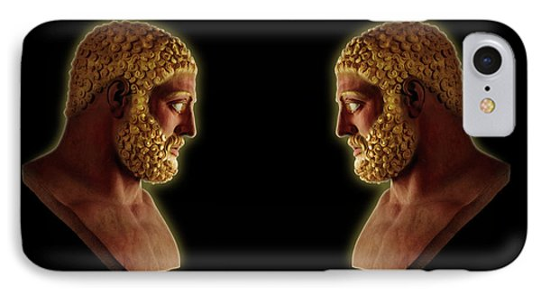Hercules - Golden Gods IPhone Case by Shawn Dall