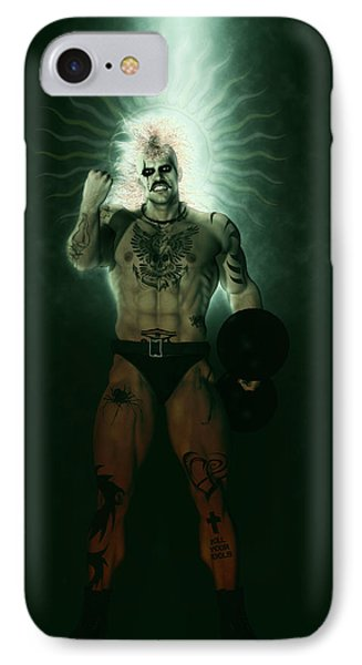 Hercules Of The Green Circus IPhone Case