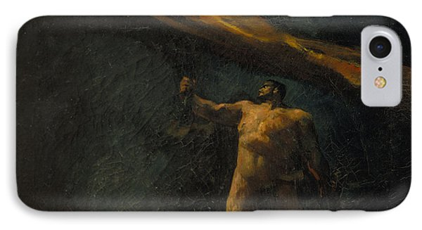 Hercules Searching For The Hesperides IPhone Case by Celestial Images