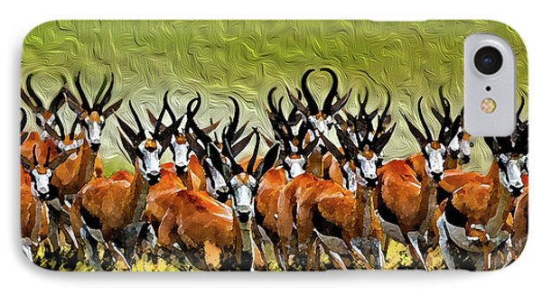 Herd 2 Phone Case by Bruce Iorio