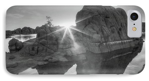 Here Comes The Sun IPhone Case by Donna Kennedy