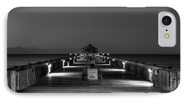 IPhone Case featuring the photograph Here It Comes Folly Beach Pier Sunrise Art by Reid Callaway