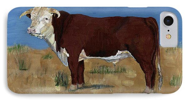 Hereford IPhone Case