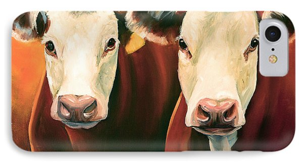 Herefords IPhone Case by Toni Grote