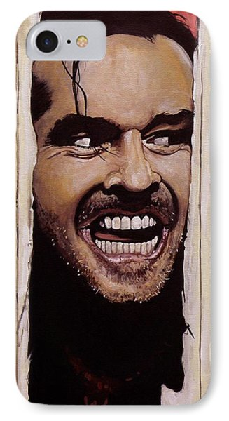 Here's Johnny IPhone 7 Case