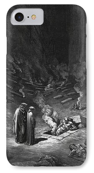Punishment iPhone 7 Case - Heresiarchs by Gustave Dore