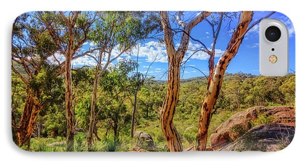 Heritage View, John Forest National Park IPhone Case by Dave Catley