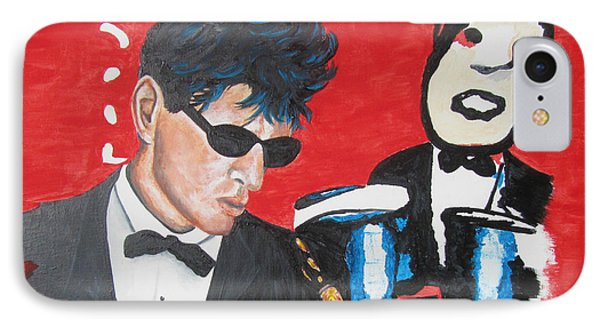 Herman Brood Jamming With His Art IPhone Case