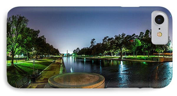 Hermann Park Reflecting Pool In Houston Texas IPhone Case