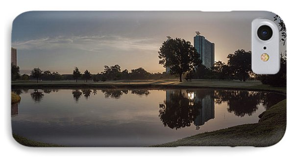 IPhone Case featuring the photograph Hermann Park Sunrise by Joshua House