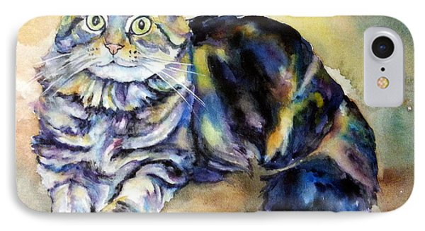 IPhone Case featuring the painting Hermione by Christy Freeman
