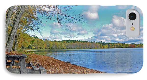 Fall Picnic In Maine IPhone Case
