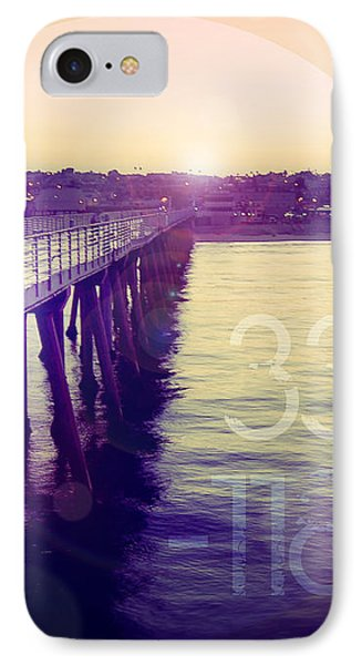 IPhone Case featuring the photograph Hermosa Beach California by Phil Perkins