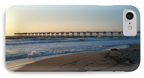 Hermosa Beach Pier At Sunset IPhone Case