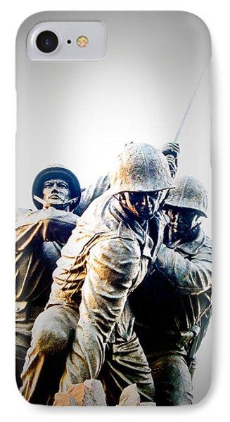 Washington D.c iPhone 7 Case - Heroes by Julie Niemela