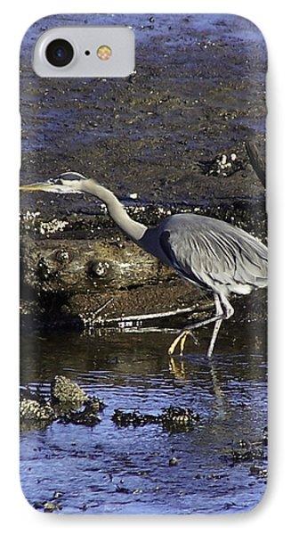 Heron 1 IPhone Case by Larry Kohlruss