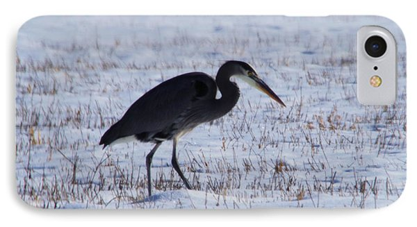 Heron At The Ready IPhone Case by Jeff Swan
