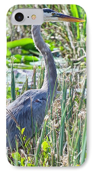 Heron By The Riverside IPhone Case