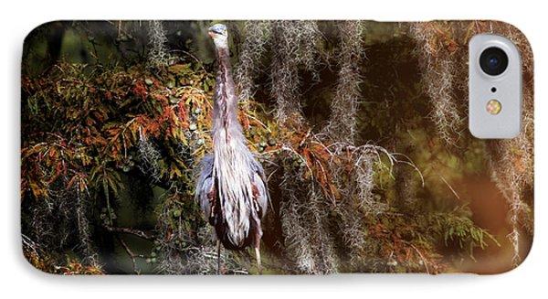Heron Camouflage IPhone Case