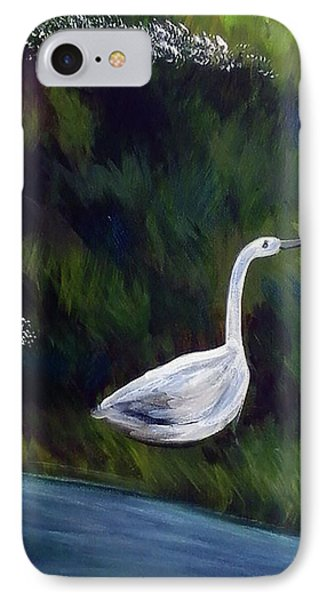 Heron Phone Case by Loretta Nash