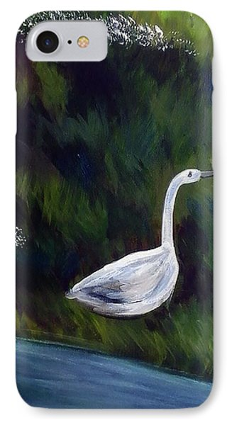 Heron IPhone Case by Loretta Nash