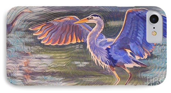 Heron Majesty IPhone Case by Janet McDonald