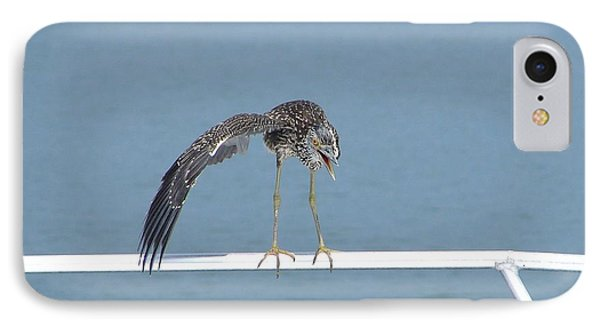 Heron Stretching IPhone Case
