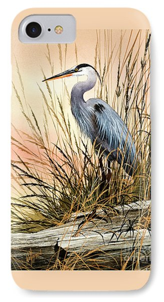 Heron Sunset IPhone 7 Case