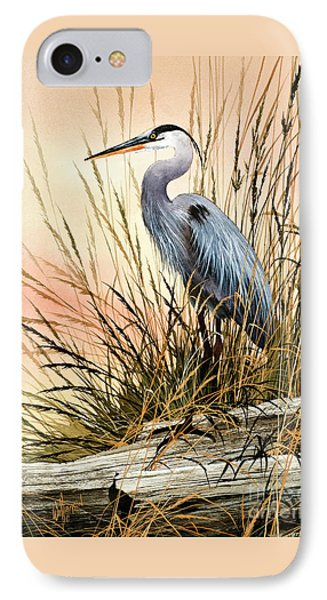 Heron Sunset IPhone Case by James Williamson