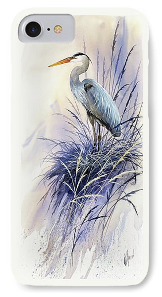 Herons Grace IPhone Case by James Williamson