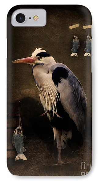 Heron's Home Phone Case by Angela Doelling AD DESIGN Photo and PhotoArt