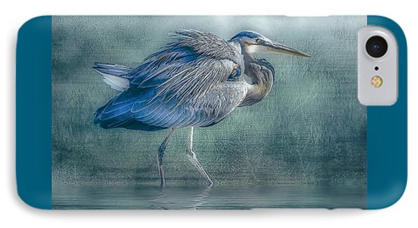 Heron's Pool IPhone Case by Brian Tarr