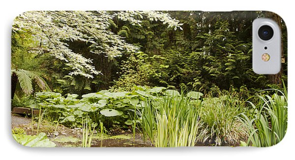 Herronswood Wetlands IPhone Case by Victoria Harrington