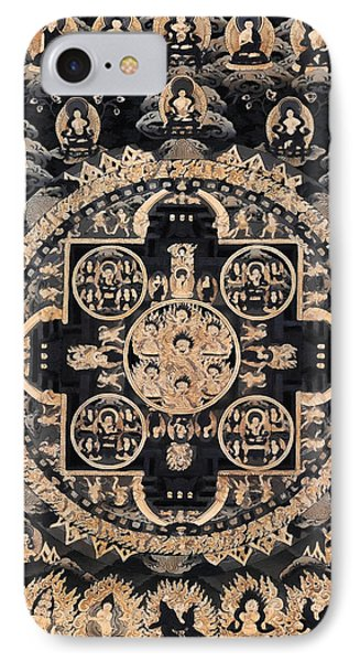 Heruka Yab Yum Mandala IPhone Case by Lanjee Chee