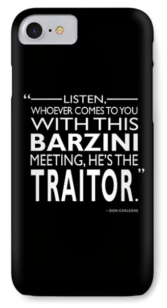 Hes The Traitor IPhone Case by Mark Rogan