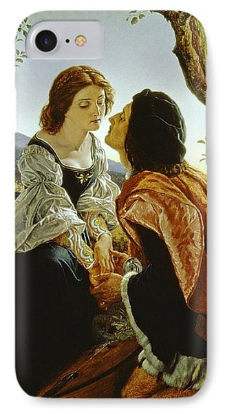 Hesperus The Evening Star Sacred To Lovers Phone Case by Sir Joseph Noel Paton
