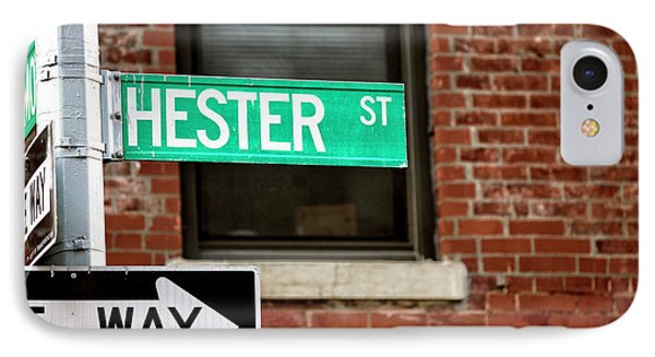 IPhone Case featuring the photograph Hester Street by John Rizzuto