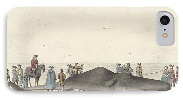 het strand tussen Zandvoort  IPhone Case by MotionAge Designs