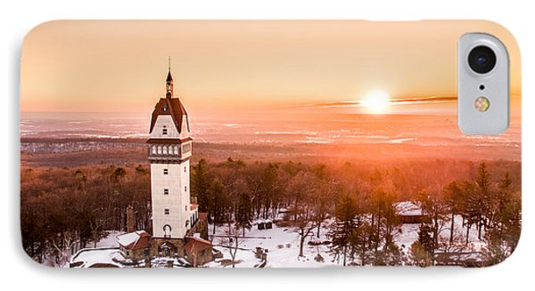 IPhone Case featuring the photograph Heublein Tower In Simsbury Connecticut by Petr Hejl