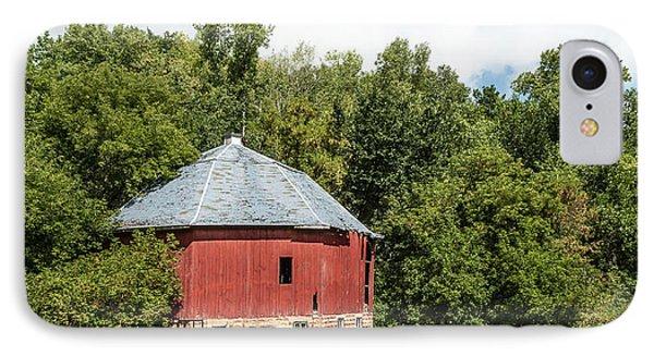 IPhone Case featuring the photograph Hexagon Barn by Dan Traun