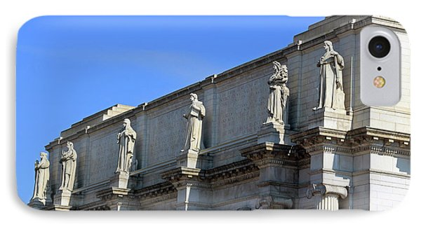 Hey Is That Joe Biden One Statue Said To Another At Union Station IPhone 7 Case