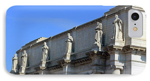 Hey Is That Joe Biden One Statue Said To Another At Union Station IPhone Case