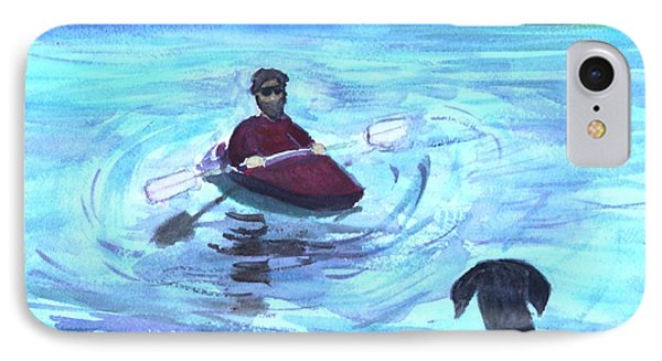 IPhone Case featuring the painting Hey Where You Going  by Donna Walsh