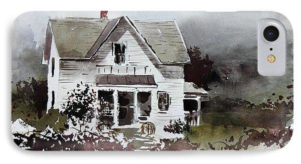 Heyl House, Minneapolis, Kansas Phone Case by Monte Toon