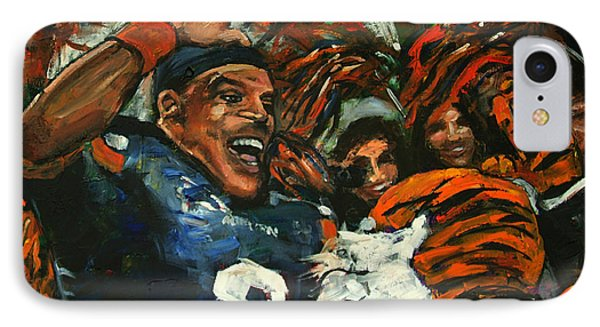 Hi Five Victory IPhone Case by Carole Foret