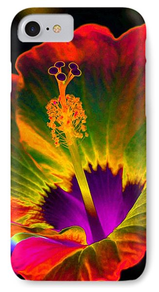Hibiscus 01 - Summer's End - Photopower 3189 IPhone Case by Pamela Critchlow