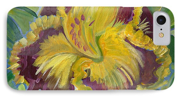 IPhone Case featuring the painting Hibiscus 2 by John Keaton