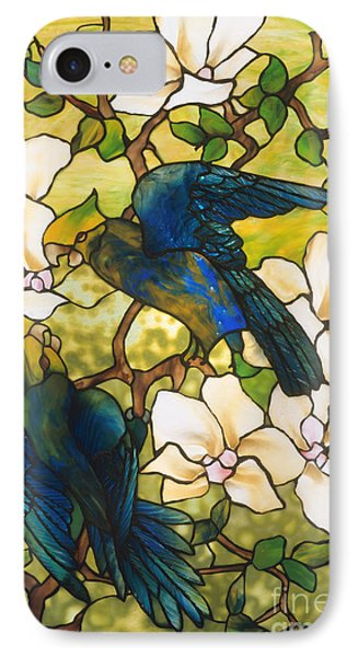 Hibiscus And Parrots IPhone 7 Case