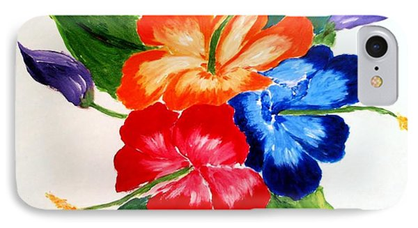 Hibiscus IPhone Case by Jamie Frier