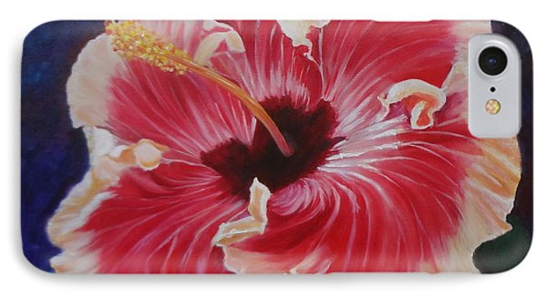 IPhone Case featuring the painting Hibiscus by Jenny Lee